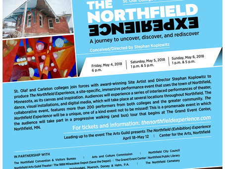 The Northfield Experience website! (and poster)