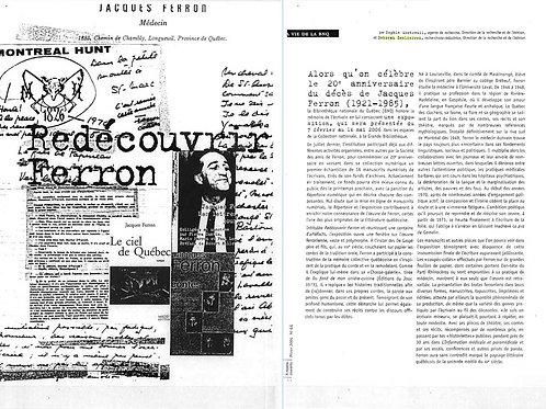 Exposition Redécouvrir Ferron