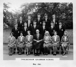 TGS Prefects May 1965