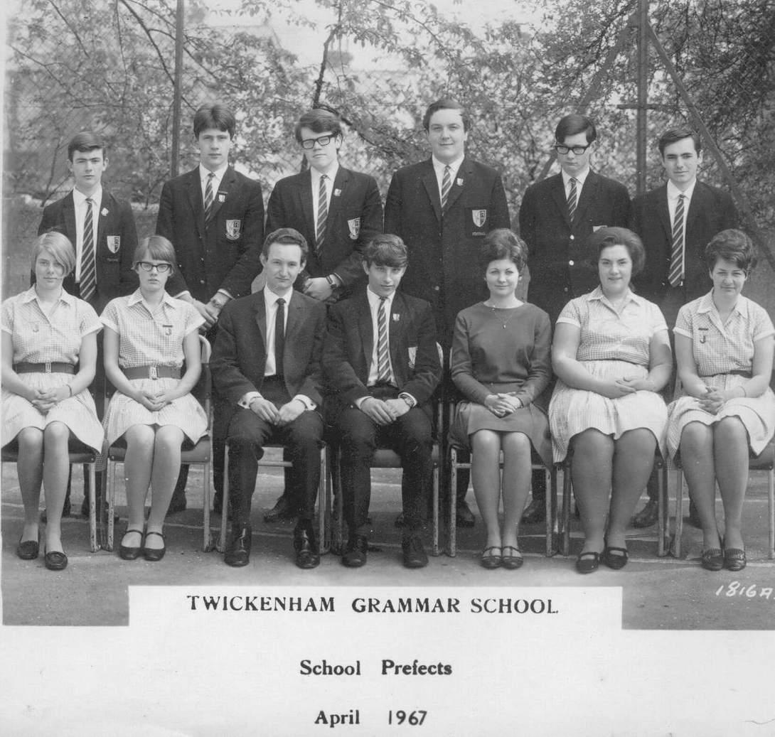 TGS Prefects April 1967