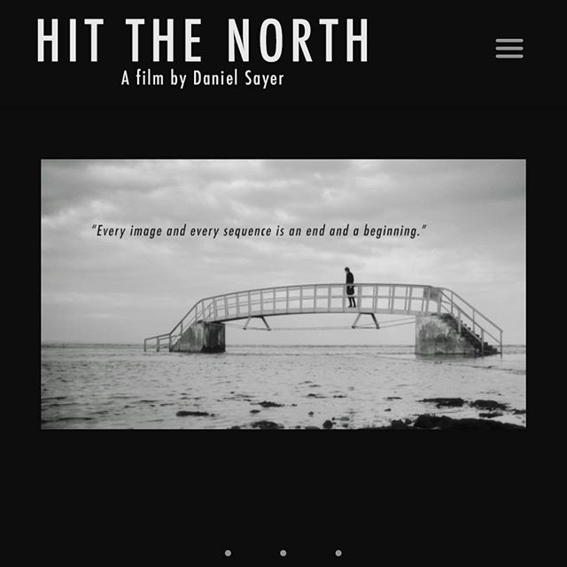 It's online! Go and check out www.hitthenorthfilm