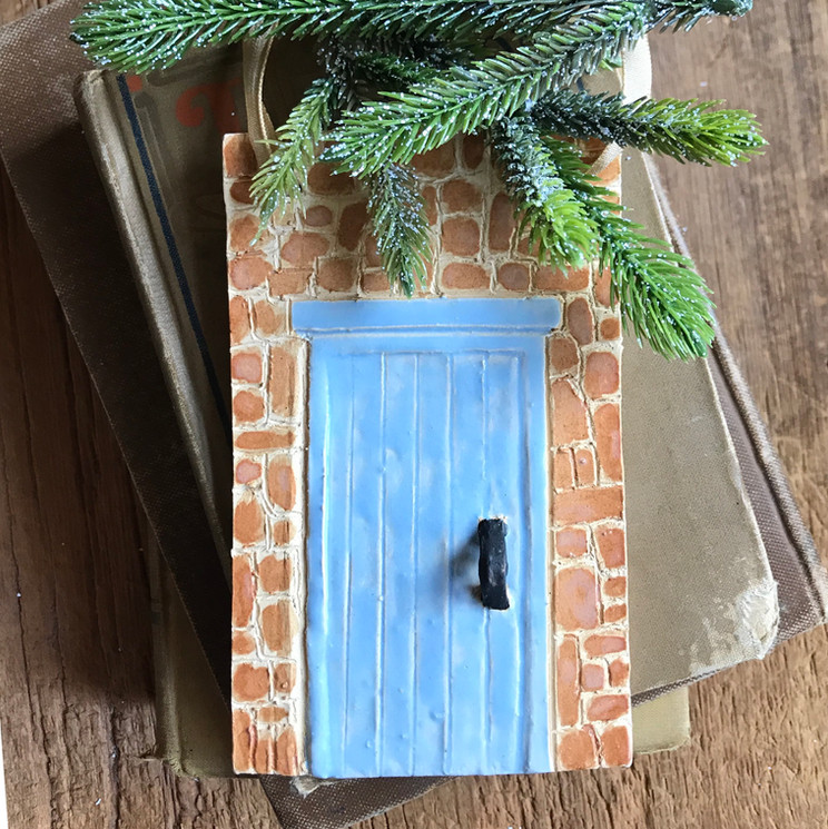 Blue Doornament
