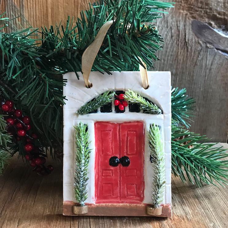Red Doornament