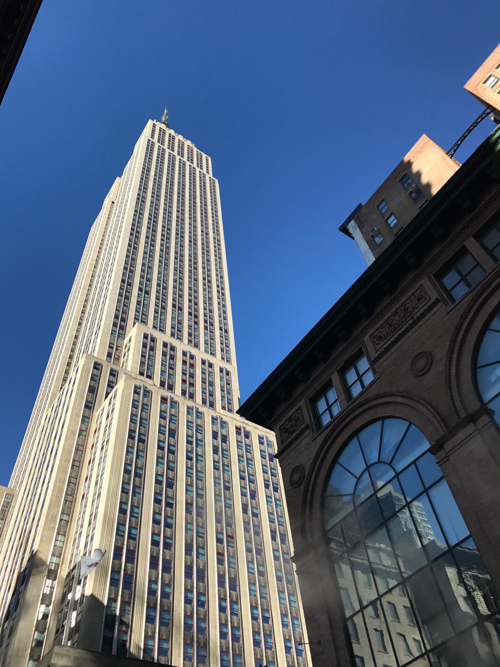 Empire State Street Scene