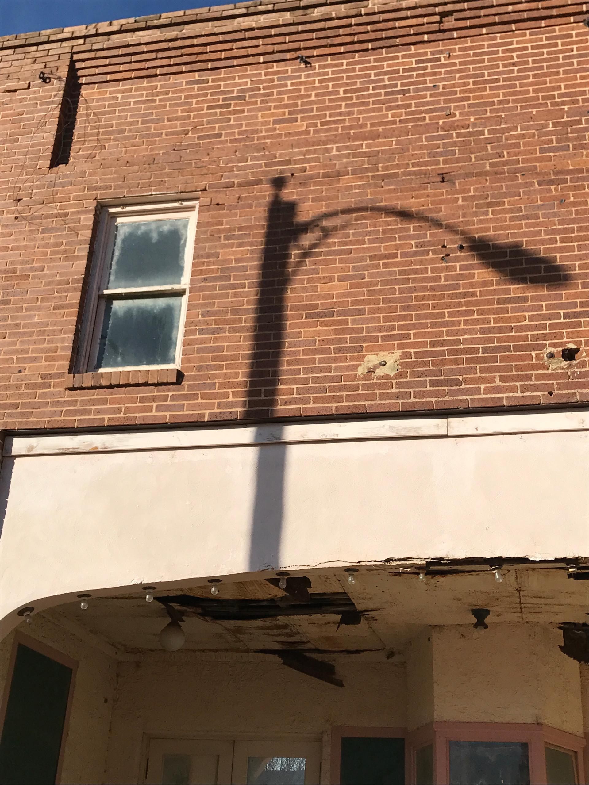 Memphis Movie Theatre Shadow
