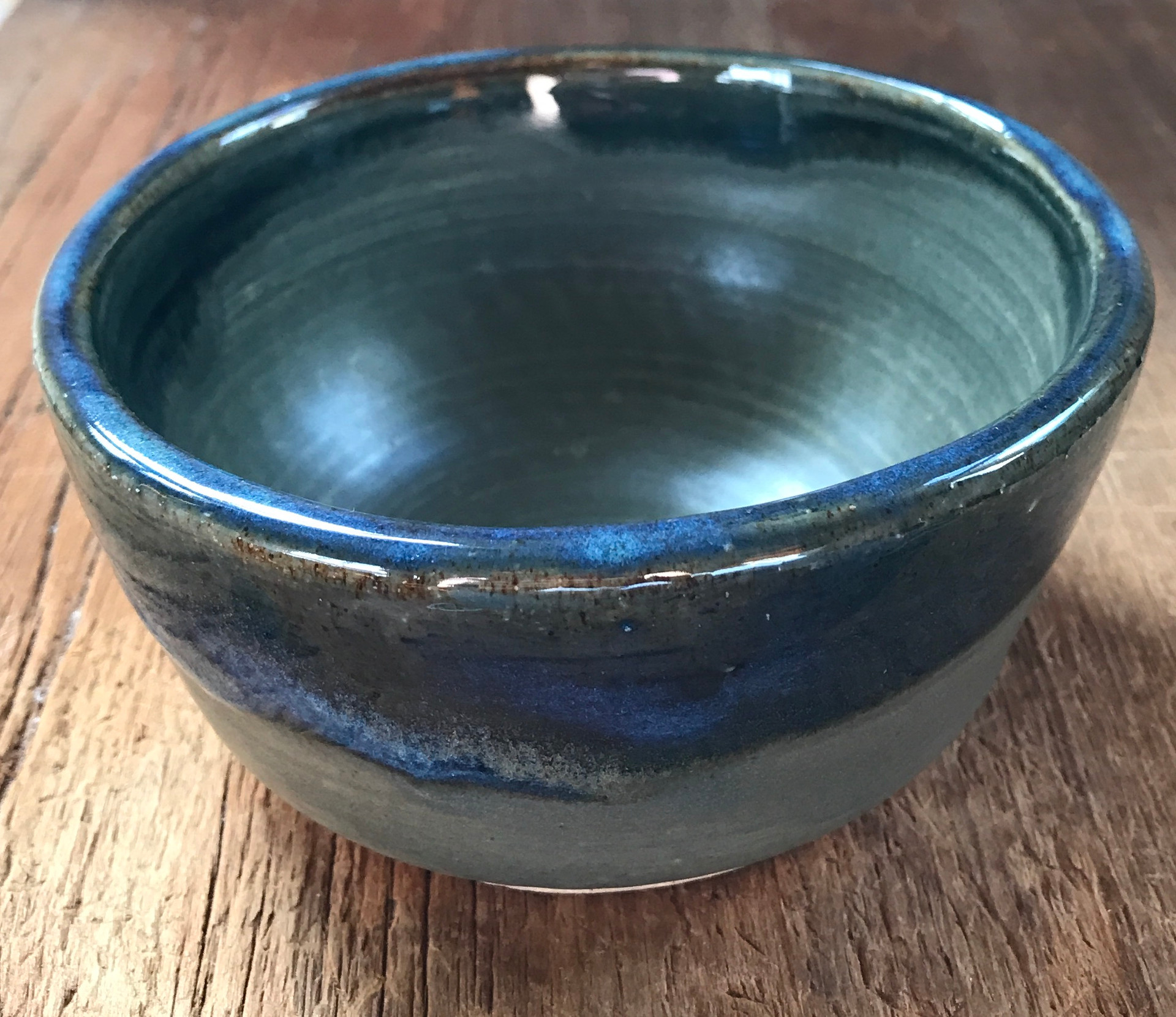Green and Blue Bowl