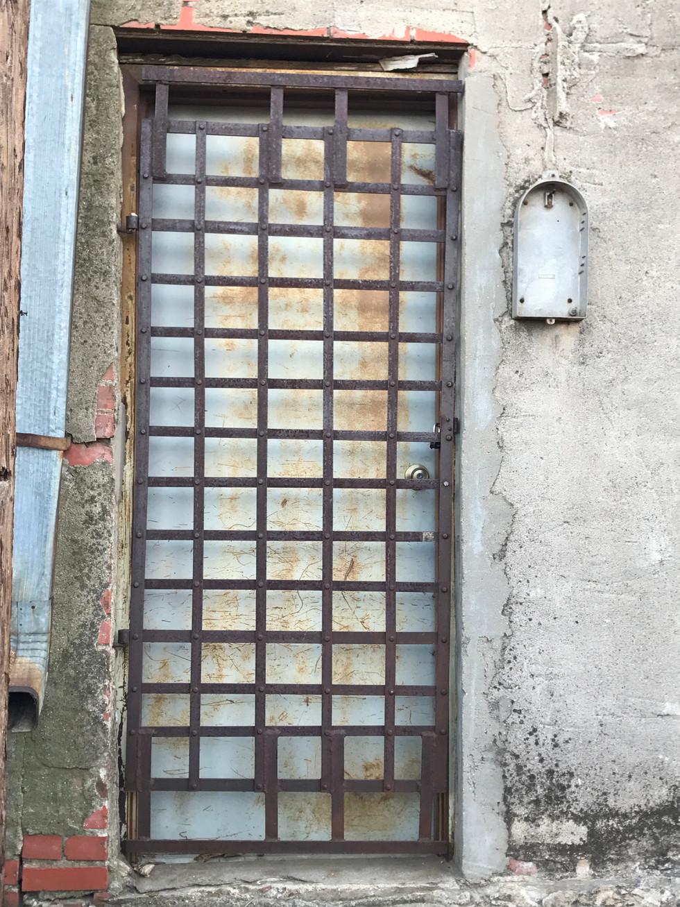 Memphis Alley Doorway