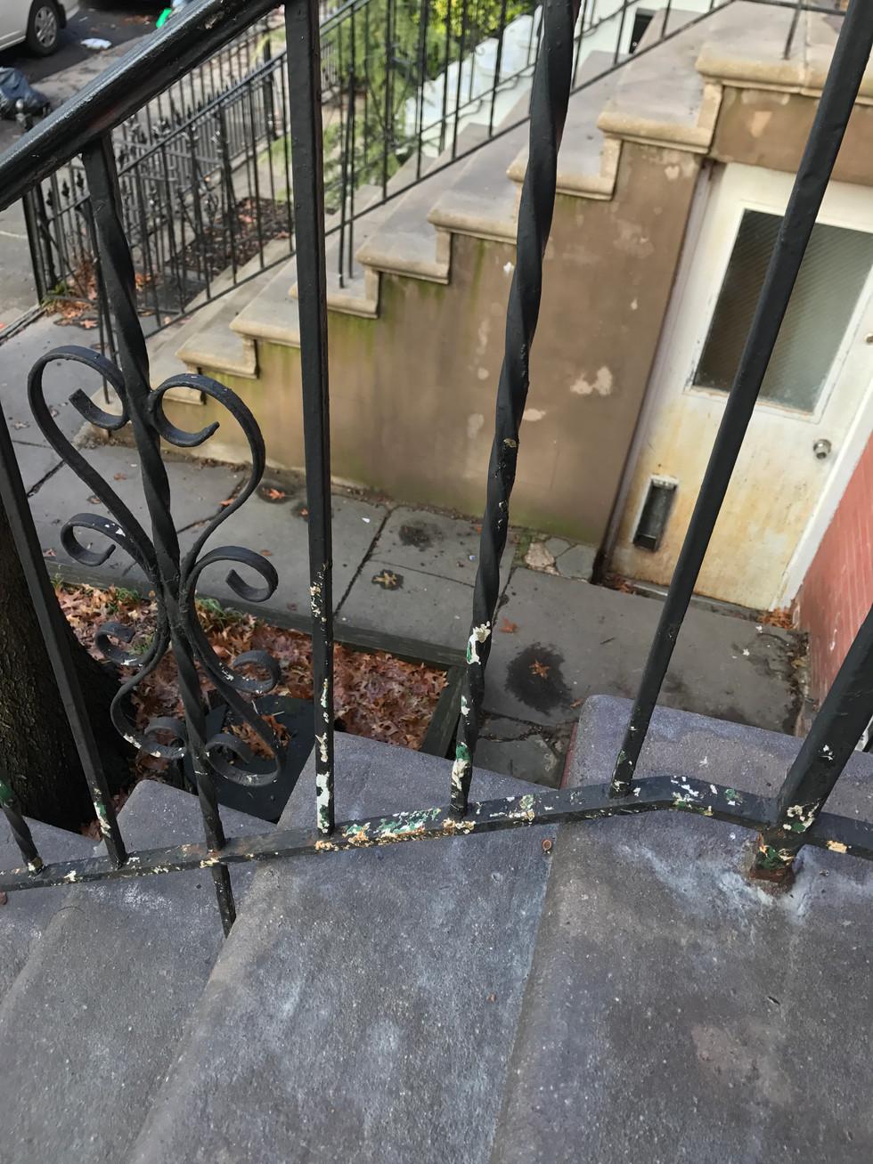 Brooklyn Stoop Stairway