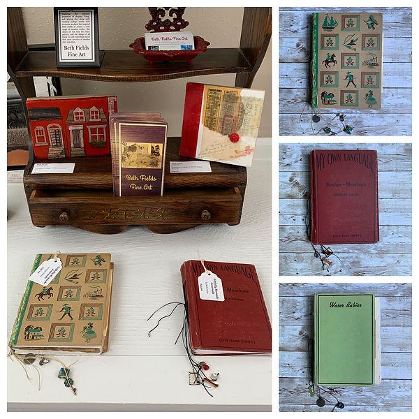 Artfully Remade Journals at Mila Delfin