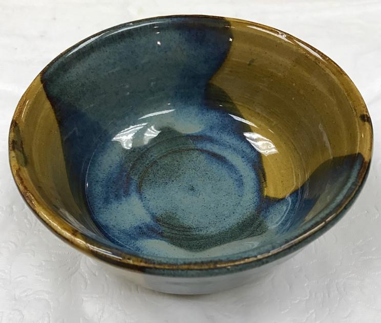 Floating Blue Bowl