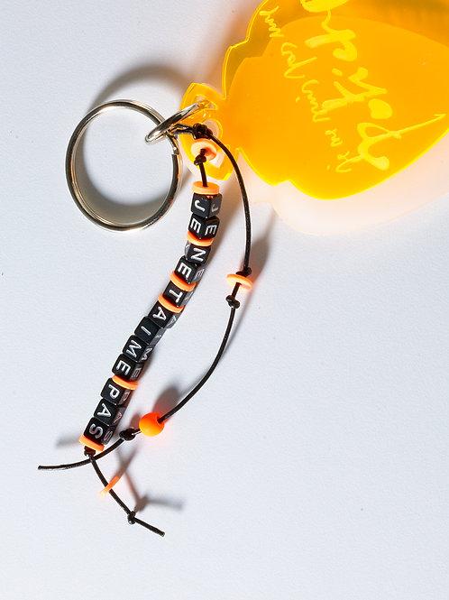 Bijou de sac ou porte-clés personnalisé