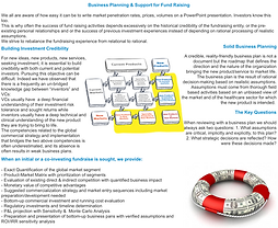 Business Planning fro Venture Capital