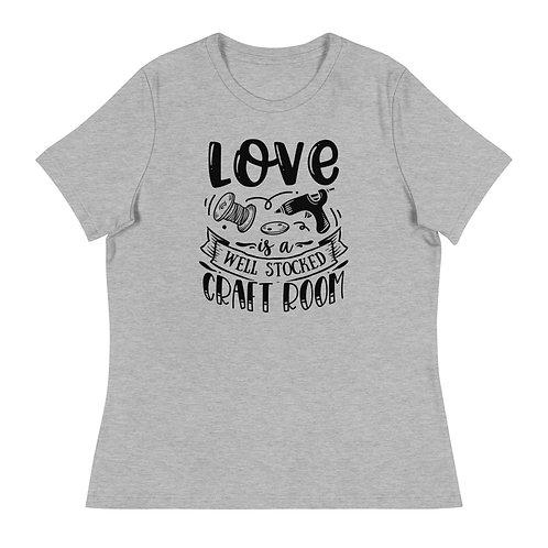 Love is well stocked short sleeve shirt