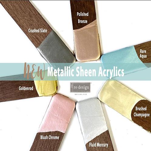 Metallic Sheen Acrylics