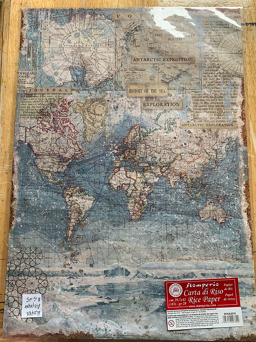 Stamperia Decoupage Rice Papers