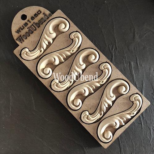 WUB1650  Pack of 6 Decorative Scrolls