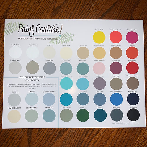 PAINT COUTURE COLOR OF THE MONTH CLUB