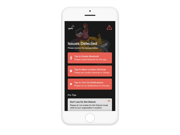 Hi Fidelity Design - Status Screen