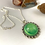 Thumbnail: Green Ice Pigment Necklace