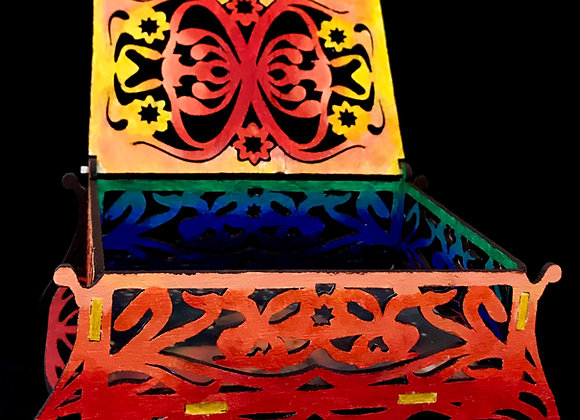Treasure box of color