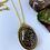 Thumbnail: Black Opal Flake Necklace