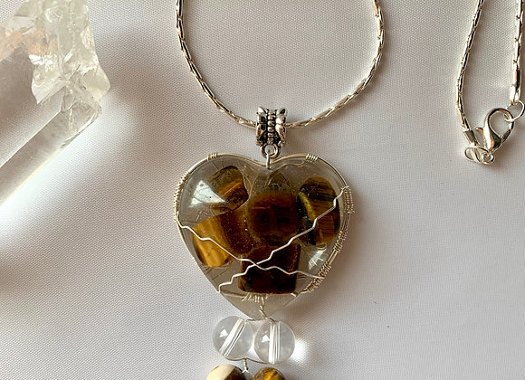 Iced Tiger's Eye