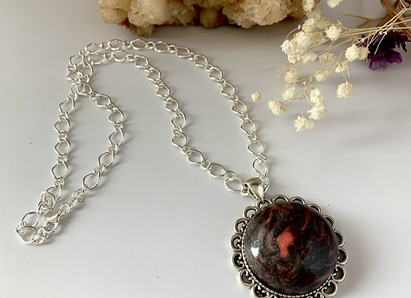 Beautiful Polymer Double Sided Necklace