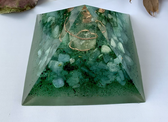 Aquamarine Large Orgonite