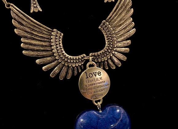 Angelic Blue Statement Set