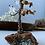 Thumbnail: Fire Agate Tree W/Stone leaves