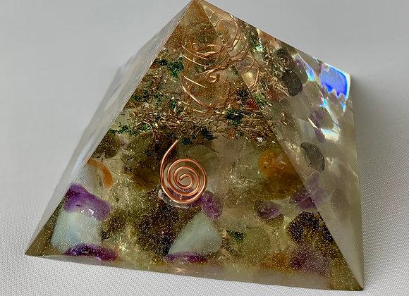 Mixed Healing Stone Orgonite Large