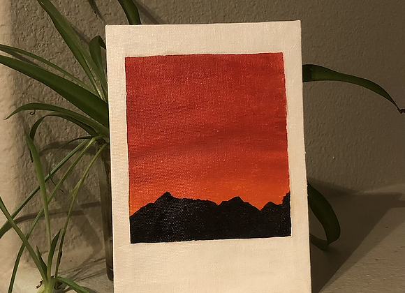 """Remember..."" Polaroid Collection - Summit Sunset 1/16"