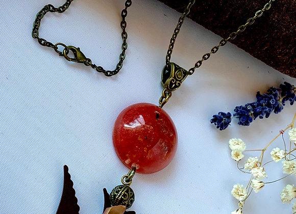 Venetian Ice Flyer Necklace