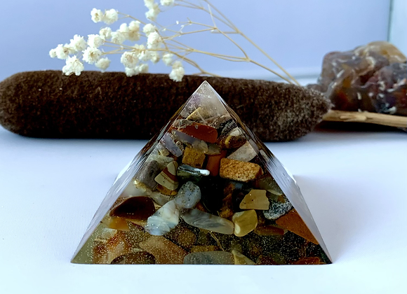 Mixed Stone Orgonite
