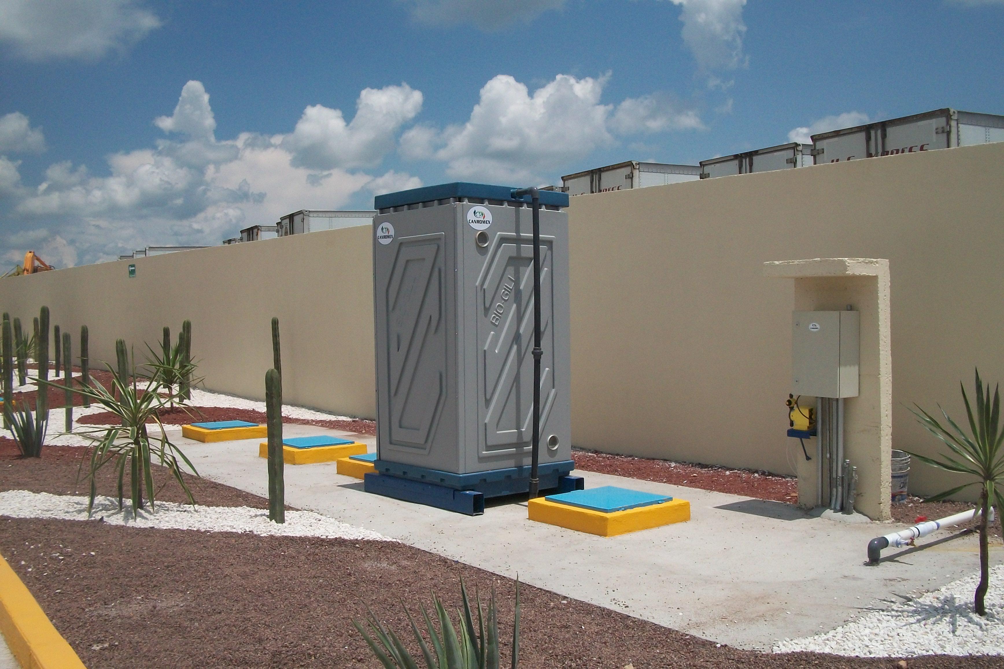 Projeto de uma estaçao de gás - México