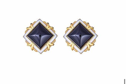 Sinai Clip Earrings