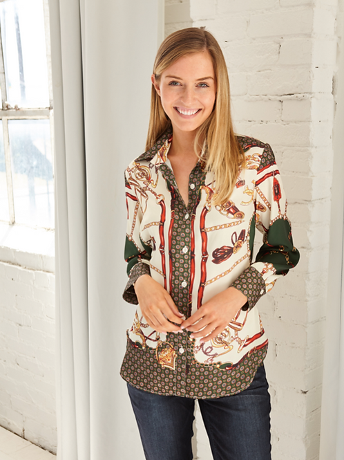 Equestrian Blouse