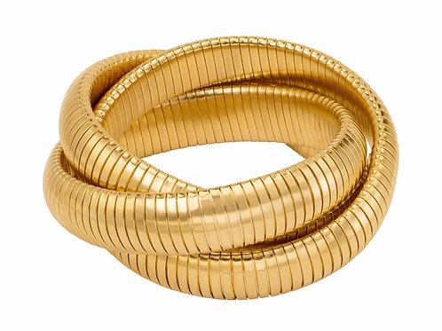 Triple Gold Stack Bracelet
