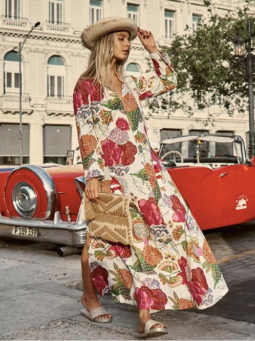 Long Flower Tunic