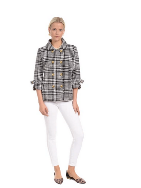 Plaid Gamine Jacket