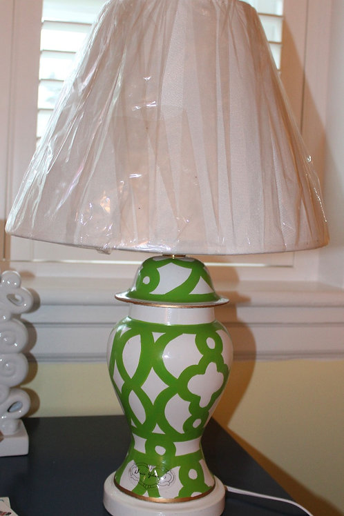 Ming Lamp with Shade