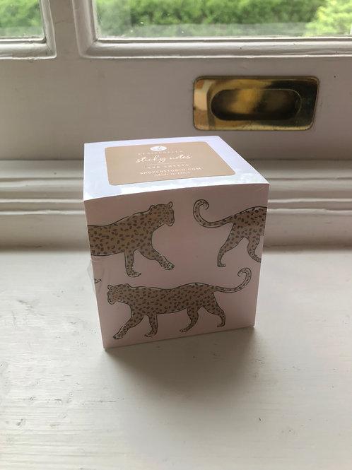 Leopard Sticky Notes