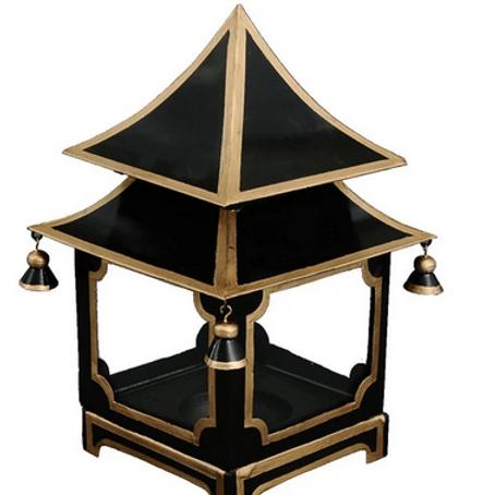 Mini Black and Gold Lantern