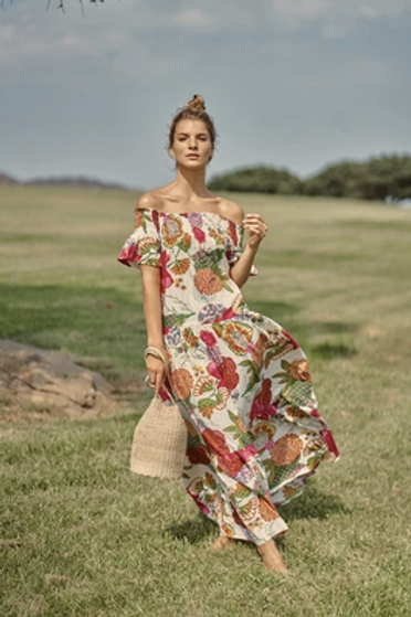 Momposina Flower Dress