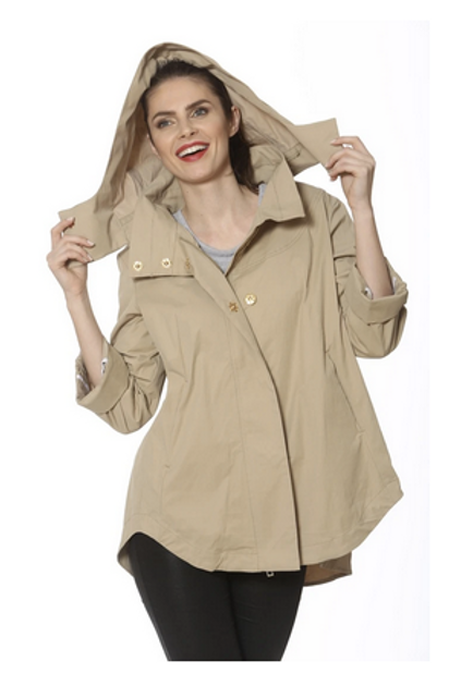"Ciao Milano ""Nia"" Raincoat"