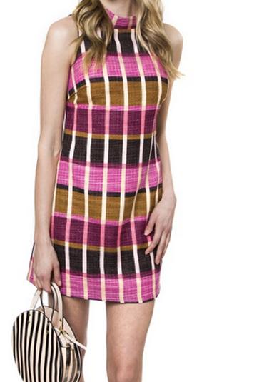 Vibrant Print Dress