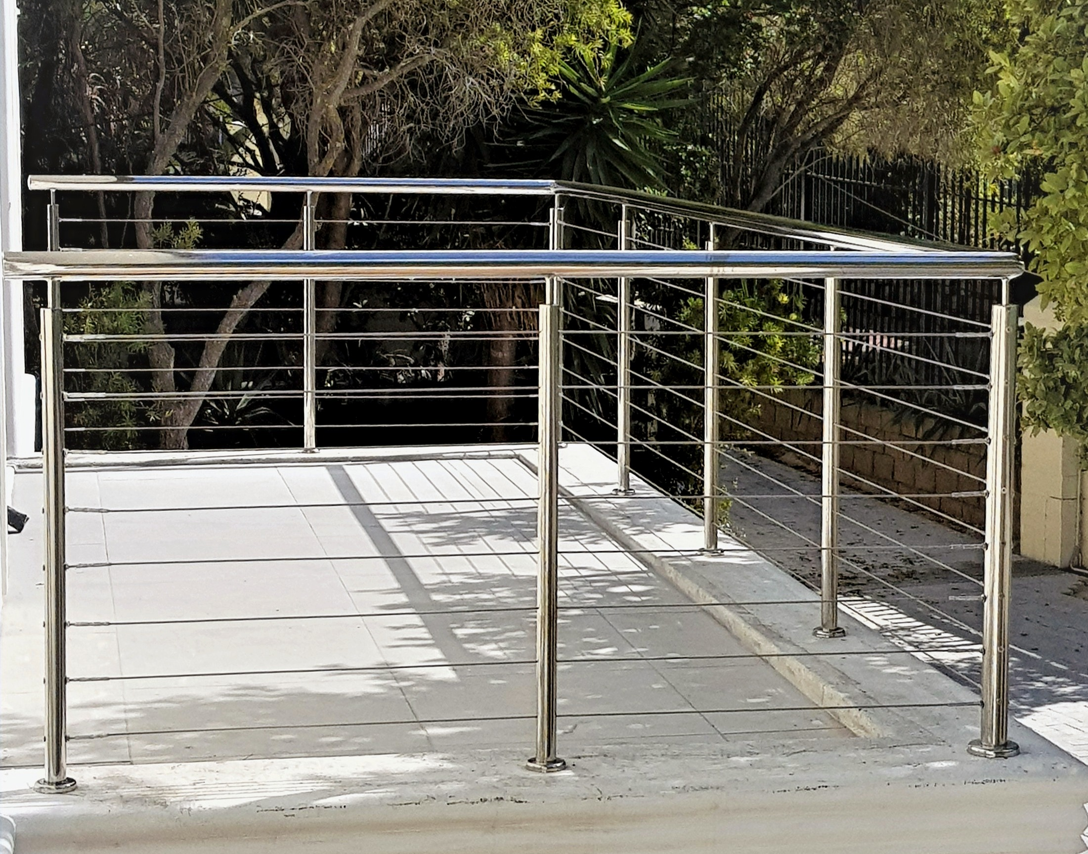 Balustrade stainless steel cable