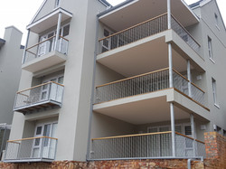 Balcony and balustrade waves