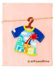 ラグランTシャツ〜ピンク〜
