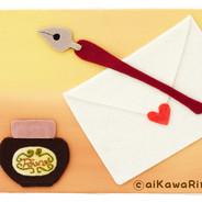 『手紙をかくよ。』